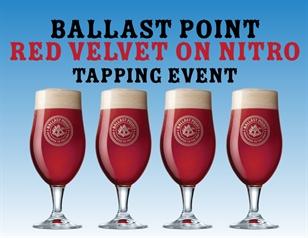 Ballast Point Red Velvet Nitro Tapping