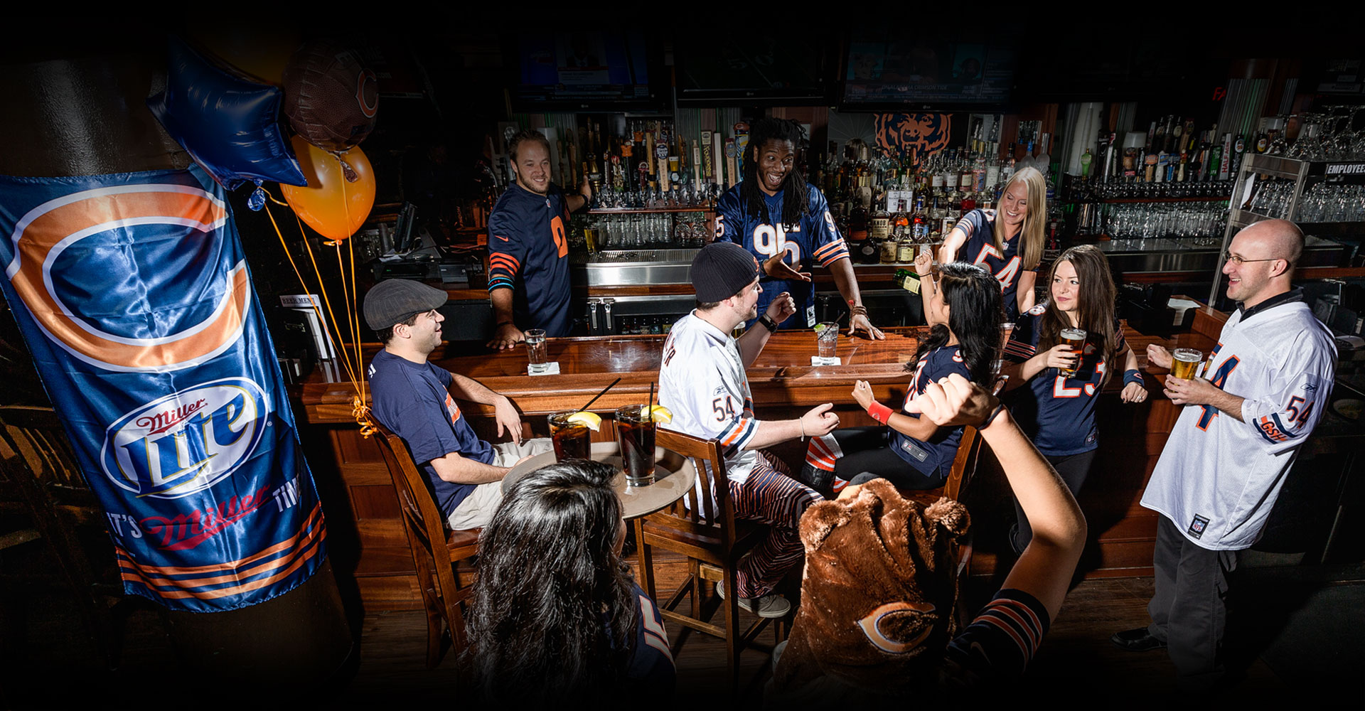 We are Chicago's Best Bears Bar. Take our shuttle to Soldier Field for all the Bears home games.