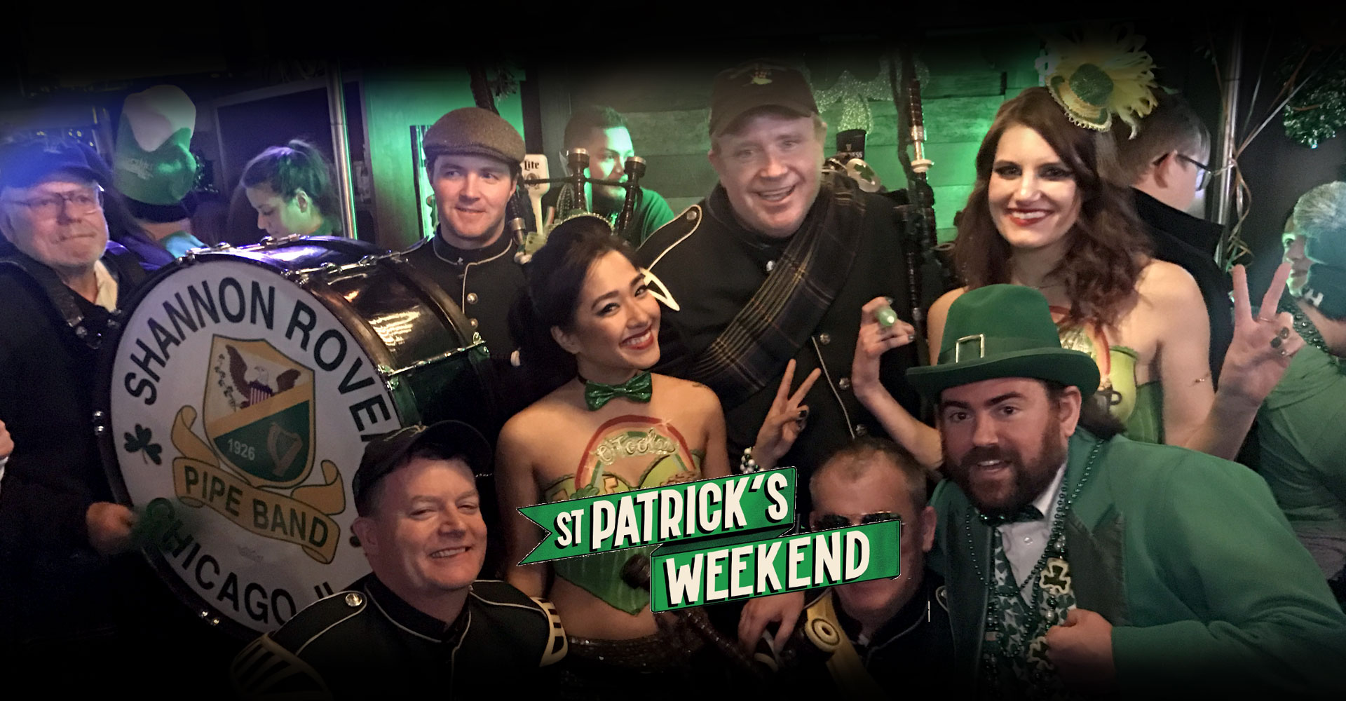 Chicago's Best St. Patrick's Day Party! Celebrate with us!