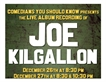 Joe Kilgallon Live Album Recording