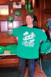 Free t-shirt giveaway on St. Patrick's Day