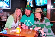People Partying on St. Pat's