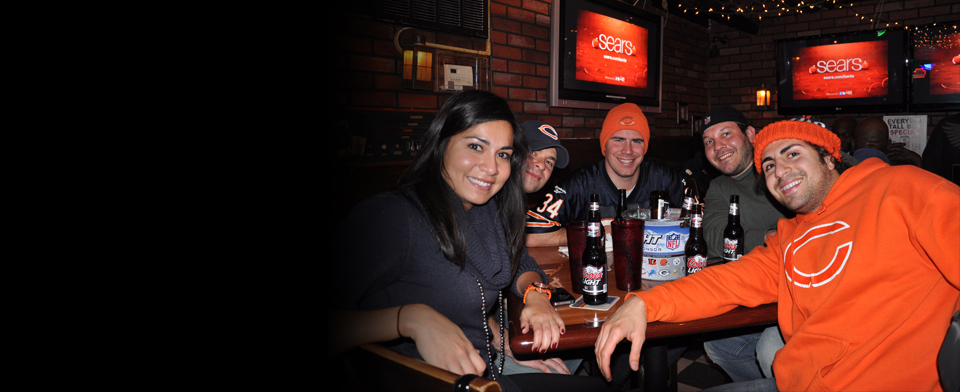 Timothy O'Toole's Pub Chicago was voted Best Bears Bar by the Chicago Reader and Best Place to Watch Bears Games by the Red Eye and Chicago Magazine.
