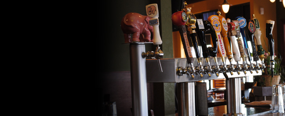 Stop in and try one of our 40 beers on tap. Check out our craft beer list here, or see what's coming up in our cellar list.
